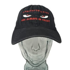 No Fear A Predator's Eyes Are Always in Front Hat